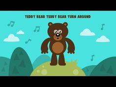 Teddy Bear Teddy Bear Turn Around   Circle Time Song for Preschool   The Kiboomers - YouTube