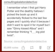 What a plot twist...