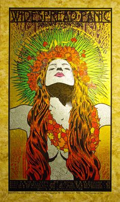 San Francisco-based artist Chuck Sperry is an adept of design and hand screen printing of rock poster art. Dominating the gig poster scene for well over a Rock Posters, Concert Posters, Music Posters, Gig Poster, Band Posters, Widespread Panic, Stoner Art, Psy Art, Psychedelic Art