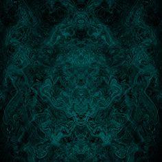 Into the Mist-ic Art Print. Dark, smoky, aqua blues...smooth and swirly. Some might even say wispy