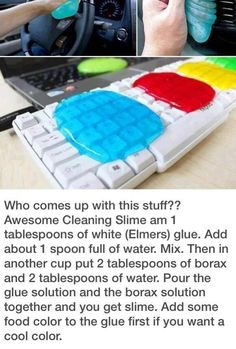 Awesome Cleaning Slime