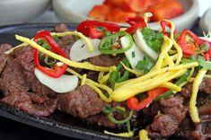 Great Korean BBQ recipes. This page shares recipes for everything from Chicken Dak Galbi to Pork Bulgogi. Enjoy!!!