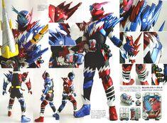 Kamen Rider Build Detail of Heroes
