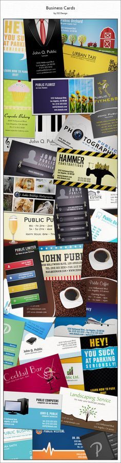Business Cards by J32 Design