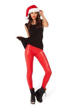0e81bd35c06fe LIKE - Wet Look Red Leggings - LIMITED by Black Milk Clothing $60AUD Lycra  Leggings