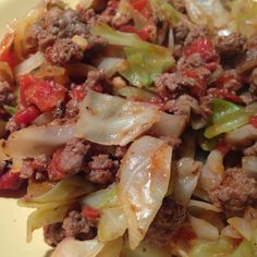 My Eating Clean Journey:  Unstuffed Cabbage Rolls EatClean, CleanEating, Eat Clean, Clean Eating, Low Carb