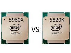 Core i7-5960X vs. Core i7-5820K - Analisi prestazionale creazione contenuti - Processori - Reviews : ocaholic