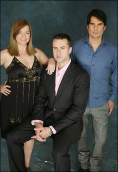 Nina, Phillip & their son, Chance. (Y & R)