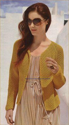 Жакет золотисто-жёлтого цвета (385x700, 117Kb)