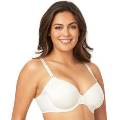 Olga Bras: No Side Effects Rose Deluster Underwire Contour Bra GB2561A,