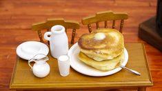 Mini Food Pancake 食べれるミニチュア ホットケーキ, se ha puesto de moda en Youtube con más de un millón de visitas y subiendo.....¡Hay ganas de marcha!