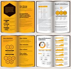Education Leeds  Annual Report Really Nice Print FinishLayout