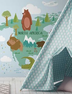 Dialling up the cute factor! This super cool animal world map wallpaper mural will take your kid around the natural world. Go custom on the colour and size #MakeMeYourOwn #wearefeathr #feathr #kidsroom #kidrooms #kidsdecor #kidsroomstyling #kidsroomstyle #nurserywallpaper #nurserywallpapers #nurserydecor #nurseryinspo #nurseryinspiration #babyroom #nurserydesign #babysroom #nurserysofinstagram #instanursery #babynurserydecor World Map Mural, World Map Wallpaper, Unique Wallpaper, Nursery Wallpaper, Kids Wallpaper, Animal Wallpaper, Baby Nursery Decor, Nursery Design, Kids Wall Murals