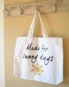 Everyday Tote Bag Made for Sunny Days
