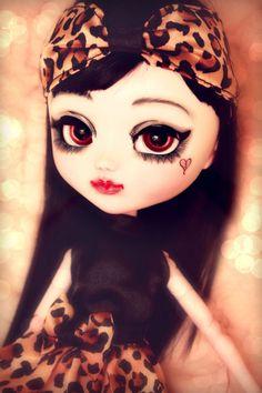 """OOAK Pullip Custom """"Coco"""" by seraphicdolls Doll Blythe Leekeworld Wig Dal Anime"""