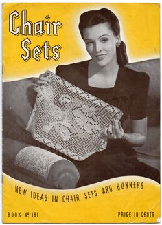 #crochet chair sets book 1942
