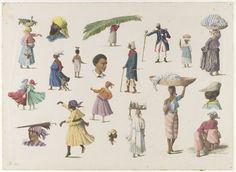 Diversos tipos de surinamés — Visor — Biblioteca Digital Mundial