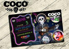 He encontrado este interesante anuncio de Etsy en https://www.etsy.com/es/listing/521814529/coco-invitations-invitations-coco