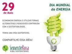 A energia é fundamental para o nosso dia-a-dia por isso utilize-a com sabedoria. Não disperse consumo consciente é vida sustentável! Acesse e saiba mais sobre sustentabilidade. Viva a energia viva a sustentabilidade! #diamundialdaenergia #energia #energiarenovavel #energiasustentavel #economizeenergia #energiaalternativa #naodisperdise #consumoconsciente #sustentabilidade #energiaeolica #energiasolar #vidassutentavel #sementerosa by sementerosa http://ift.tt/1TO07xt