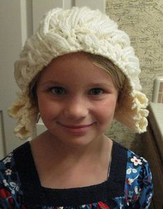 Mozart powdered wig I crocheted for daughter a few years ago. #crochet #powderedwig #costume