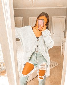 Casual School Outfits, Cute Comfy Outfits, Cute Casual Outfits, Teen Fashion Outfits, Mode Outfits, Retro Outfits, Simple Outfits, Outfits For Teens, Stylish Outfits