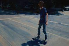 """Saatchi Art Artist Matthew Carter; Painting, """"Young Skater"""" #art"""