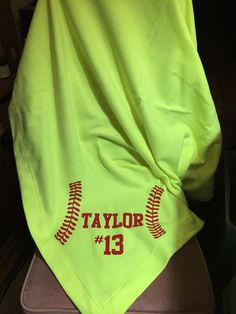 Personalized Sweatshirt Blanket by OutlawSoulDesigns on Etsy