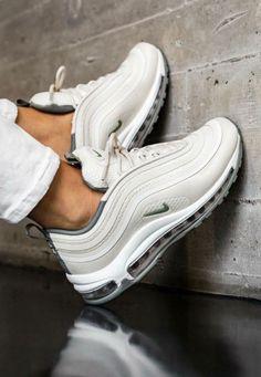 Womens Nike Air Max 97 Cobblestone Gray #fashion #clothing