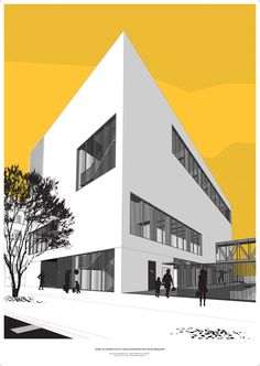 arch_it piotr zybura hybrid sport complex with fencing hall in Wrocław (PL) - poster