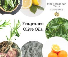 *Our Mediterranean Tastes are about to become more fragrant! You will soon be able to taste the herbal version of our olive oil. Crete, Olive Oil, Basil, Herbalism, Plant Leaves, Garlic, Lemon, Fragrance, Orange