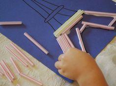 Eiffel Tower Craft for Kids