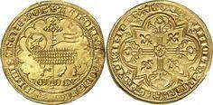 Low Countries/Brabant AV Mouton d'or ND Vilvorde Mint Jeanne et Wenceslas 1355-83