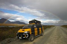 Selling: Mitsubishi Delica 4x4 Diesel Van in Argentina (Registered in Canada) for November $11,000 | Drive the Americas