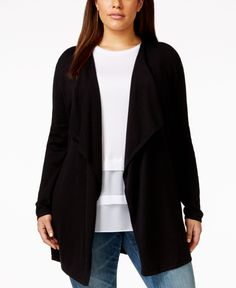 Cardigans & Kimonos | Cool Casual Contemporary Plus Size Cardigans ...