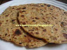 Koki (Sindhi parathas) - Merry Tummy