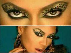 I loved it when Beyonce rocked her leopard print eye makeup.
