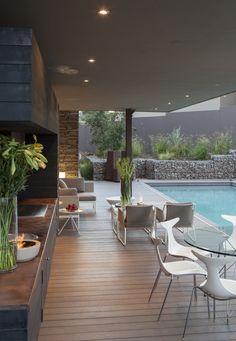 House Duk | Outdoor entertainment | Nico van der Meulen Architects  #Design #Architecture #Contemporary