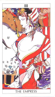 Tarot Amano   Creado e ilustrado por Yoshitaka Amano (1991)