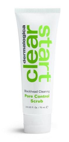 Blackhead Clearing Pore Controle Scrub.      Jonge tiener huid.