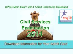 Waiting or your IAS Main Examination Admit Card…???  Download information at …..http://bit.ly/1xbmoaA