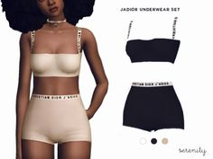 serenity-cc J´adior Underwear Set