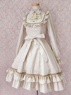 Victorian maiden - looks like something that might even be cute today!
