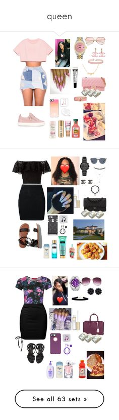 """queen"" by issa-baddone ❤ liked on Polyvore featuring jewelry, bracelets, hinged bracelet, hinged bangle, chains jewelry, pre owned jewelry, louis vuitton bangles, beauty, Giuseppe Zanotti and Casetify"
