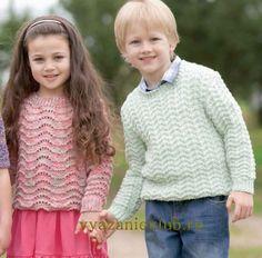 Пуловер для детей - Для детей до 3 лет - Каталог файлов - Вязание для детей