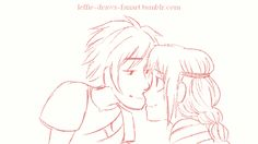 Wouldn't it be cute if Hiccup and Astrid just randomly kiss.. Cred to leffie-draws-fanart on tumblr!