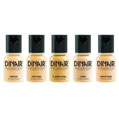Dinair Airbrush Makeup Foundation   5pc Paramedical Set   Fair Shades   Covers Scars, Acne, Tattoos, Under Eye Circles, Sun Spots, Vitiligo -- This is an Amazon Affiliate link. Be sure to check out this awesome product.