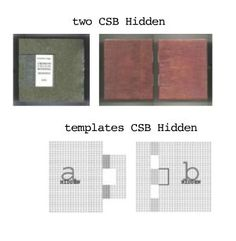 Crossed Structure Binding Hidden by Carmencho Arregui