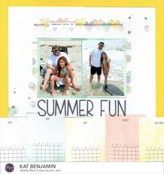 summer fun    HappyGRL - Scrapbook.com