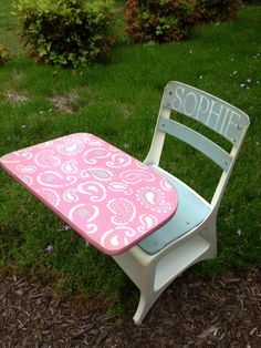 Paisley child desk..FADED FARMHOUSE DESIGNS by Michelle