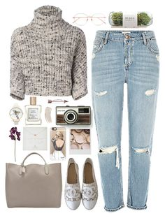 """""""jill"""" by marble-shape ❤ liked on Polyvore featuring Brunello Cucinelli, Chanel, Smythson, Olivia Burton, Beau & Arrow, Polaroid, Casetify, Dogeared, Potting Shed Creations and Pied a Terre"""